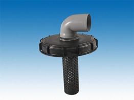 Class IBC Deckelfilter, 225 mm mit 70mm HT-Bogen #64 - 1