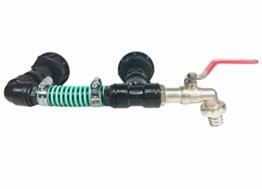 FN-Technik IBC Regentonnenverbinder Tankverbinder 2-Fach DN 50 Adapter - 1