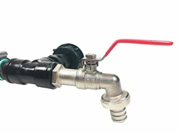 FN-Technik IBC Regentonnenverbinder Tankverbinder 2-Fach DN 50 Adapter - 2
