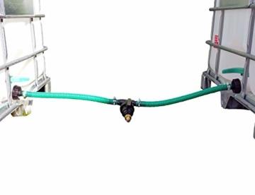 FN-Technik IBC Verbinder Regentonnenverbinder Tankverbinder 2-Fach DN 50 gegenüber stehend - 3