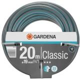 Gardena Classic Schlauch 19 mm (3/4 Zoll), 20 m: Universeller Gartenschlauch aus robustem Kreuzgewebe, 22 bar Berstdruck, UV-beständig, ohne Systemteile, 12 Jahre Garantie (18022-20) - 1