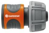 Gardena Schlauchverbinder 19 mm (3/4 Zoll): Steckverbinder für den Schlauchanfang, wasserdicht, gerillte Griffmulden, simple Montage, verpackt (18216-20) - 1