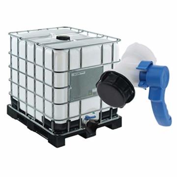 IBC-Wassertank Universal Adapter IBC Behälter Container Auslass regelventil DN40, 62mm - 8