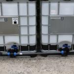 Tankverbindung DN50 S60x6 nebeneinander - für 2 Tanks (Tanks sind nicht im Angebot enthalten) - 1