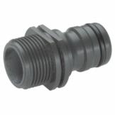 Gardena Profi-System-Gerätestück: Geräteadapter zum Anschluss von Bewässerungsgeräten an das Profi-System, 26.5 mm (G 3/4 Zoll)-Außengewinde (2821-20) - 1