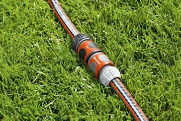 Gardena Kupplung: Verbindungsteil zur sicheren Verbindung zweier Schläuche, auch zum Übergang von 19 mm (3/4 Zoll)- auf 13 mm (1/2 Zoll)-Schläuche (931-50) - 2