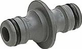 Gardena Kupplung: Verbindungsteil zur sicheren Verbindung zweier Schläuche, auch zum Übergang von 19 mm (3/4 Zoll)- auf 13 mm (1/2 Zoll)-Schläuche (931-50) - 1