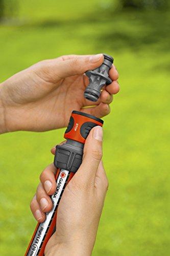 Gardena Kupplung: Verbindungsteil zur sicheren Verbindung zweier Schläuche, auch zum Übergang von 19 mm (3/4 Zoll)- auf 13 mm (1/2 Zoll)-Schläuche (931-50) - 3