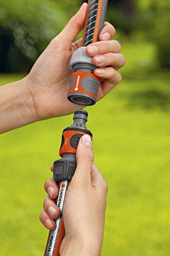 Gardena Kupplung: Verbindungsteil zur sicheren Verbindung zweier Schläuche, auch zum Übergang von 19 mm (3/4 Zoll)- auf 13 mm (1/2 Zoll)-Schläuche (931-50) - 4