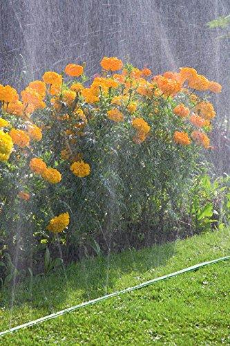 Gardena Schlauch-Regner: Sprühregner für die Bewässerung länglicher, schmaler Zonen, Länge 7.5 m, anschlussfertig ausgestattet, grün, individuell verkürz- oder verlängerbar (1995-20) - 2