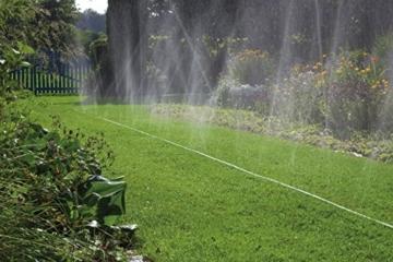 Gardena Schlauch-Regner: Sprühregner für die Bewässerung länglicher, schmaler Zonen, Länge 7.5 m, anschlussfertig ausgestattet, grün, individuell verkürz- oder verlängerbar (1995-20) - 4